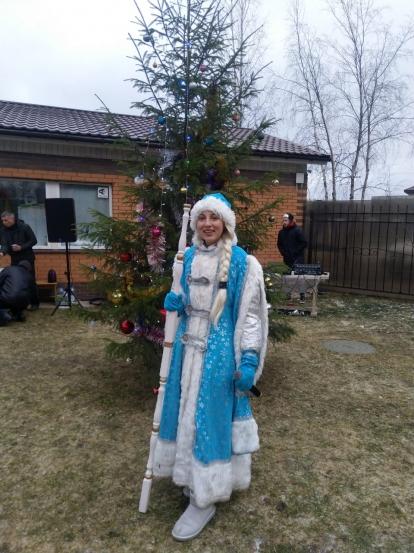 Новогодний праздник в Солнечном